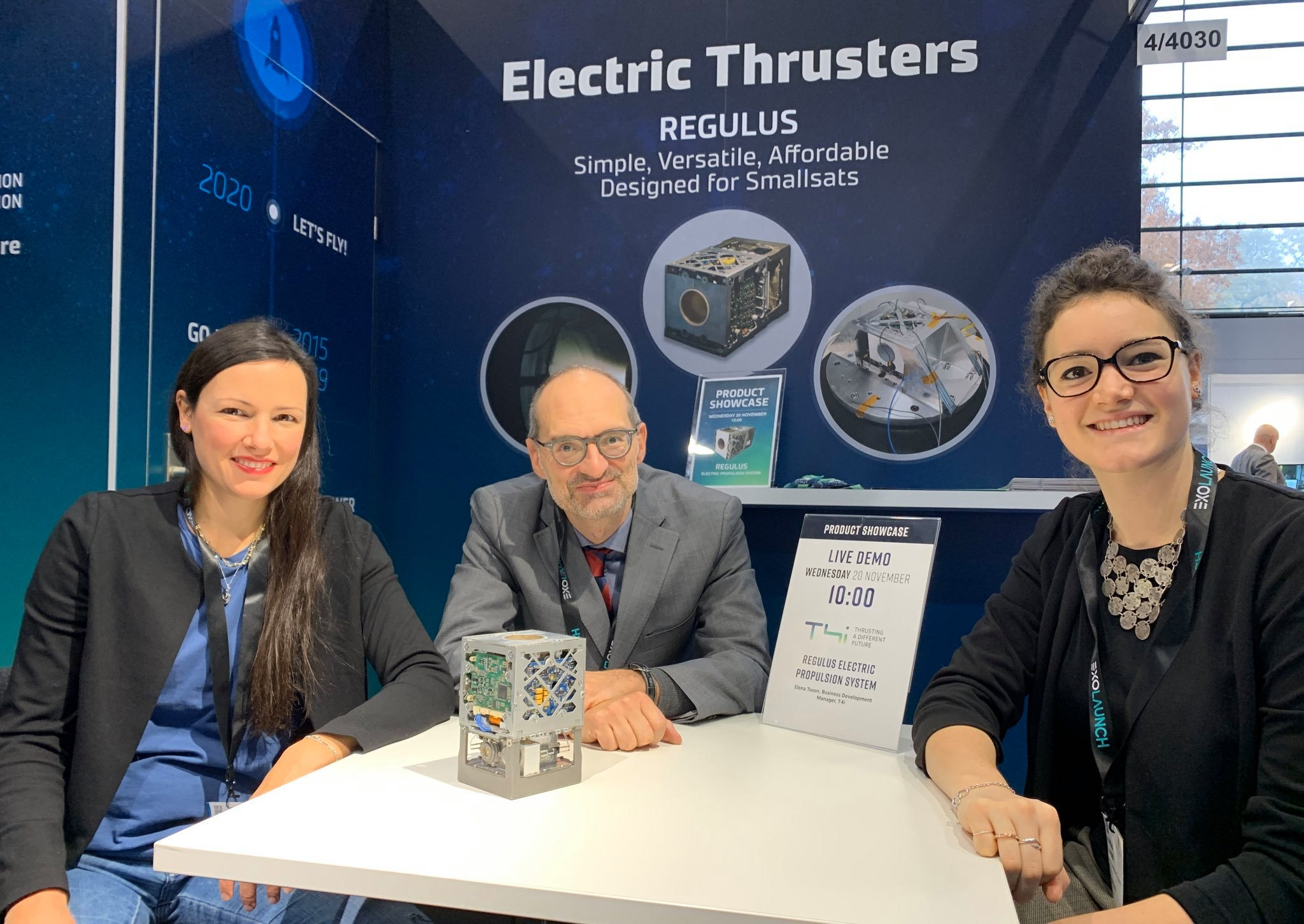 t4i space tech expo europe 2019