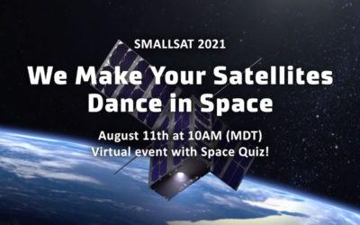 Smallsat 2021: we're virtual ready!